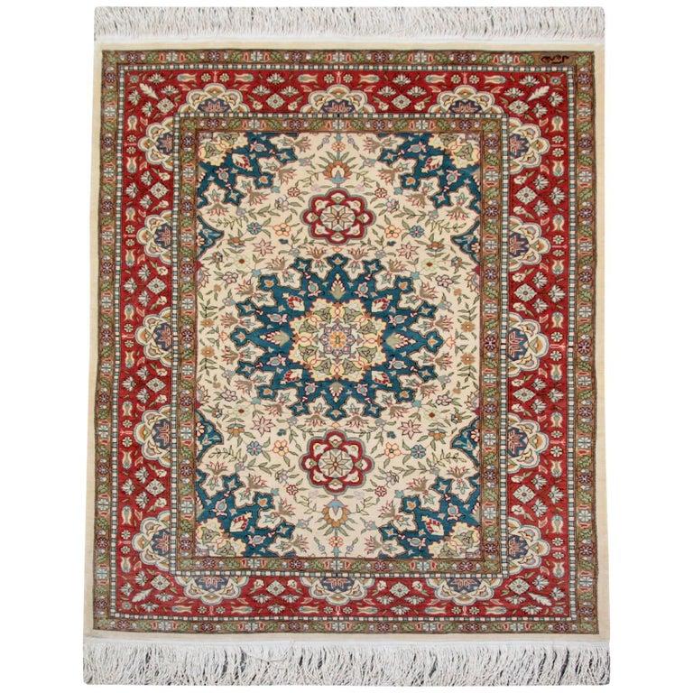 Hereke Silk Rug Youtube: Magnificent Silk Rugs, Turkish Hereke Oriental Rug With