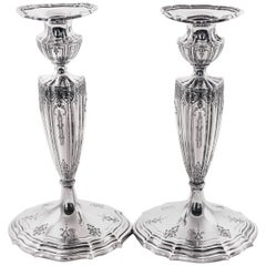 Magnificent Sterling Candlesticks