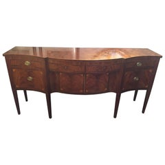 Magnificent Very Large Schmieg and Kotzian Mahogany Sideboard