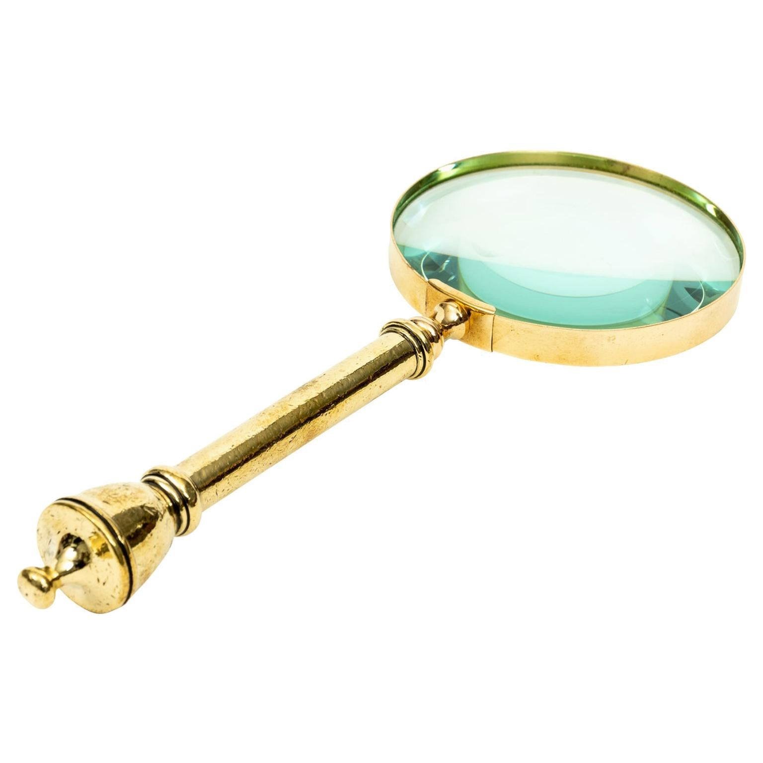 Magnifying Glass Brass Victorian