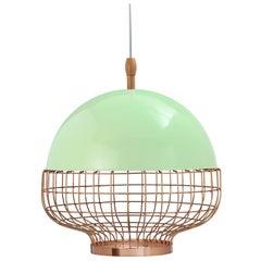 Magnolia I Copper Suspension Lamp