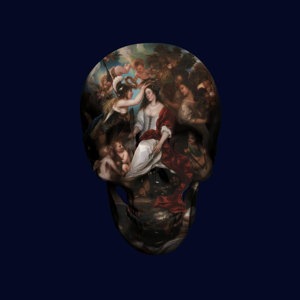 ALLEGORY OF PEACE limited edition size 80, wallace collection, London, art,