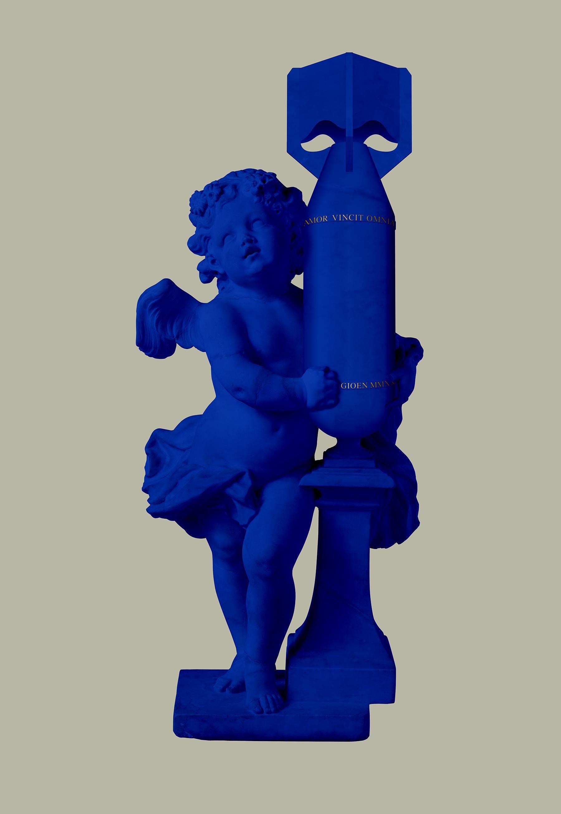 CUPID (AMOR VINCIT OMNIA) BLUE