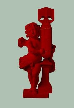 CUPID (AMOR VINCIT OMNIA) RED