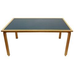 Magnus Olesen Beech Danish Bentwood Dining Table in the Style of Alvar Aalto