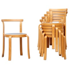 Magnus Olesen Danish Midcentury Series 8000 Stacking Chairs