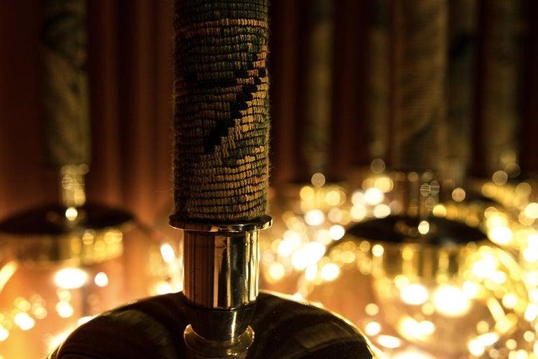 Magus Suspension 13 lamps in Murano Glass by Filippo Feroldi (Euro)  For Sale 1