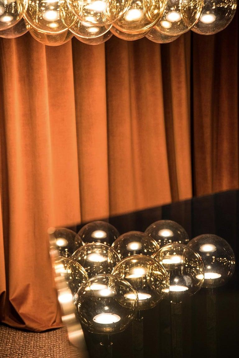 Magus Suspension 13 lamps in Murano Glass by Filippo Feroldi (Euro)  For Sale 2