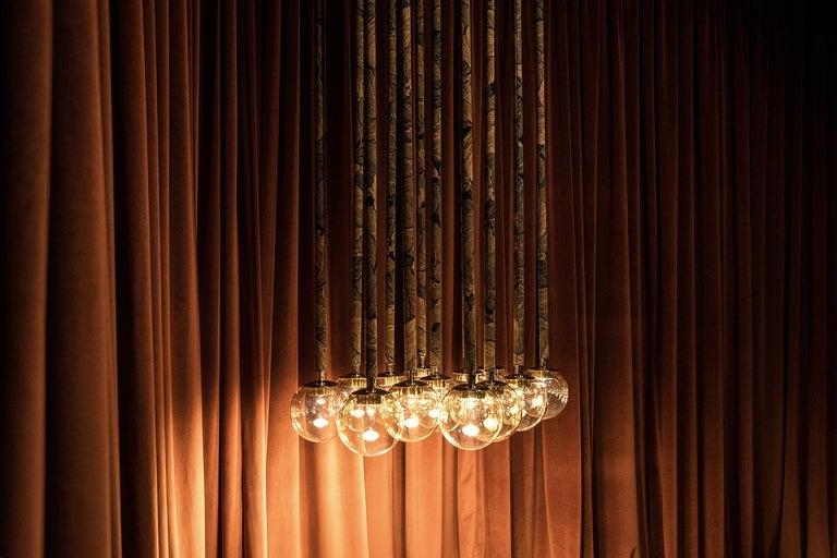 Magus Suspension 13 lamps in Murano Glass by Filippo Feroldi (Euro)  For Sale