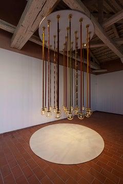 Magus Suspension lamp in Murano Glass by Filippo Feroldi (Euro)