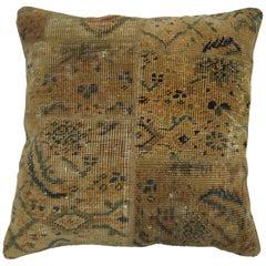 Mahal Persian Patchwork Rug Pillow