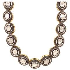Maharaja 20 Carat Fancy Cut Diamond Necklace Pendant