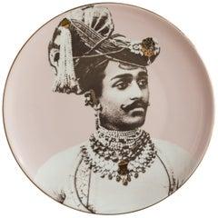 Maharaja Porcelain Dinner Plate by Vito Nesta for Les-Ottomans Part 3