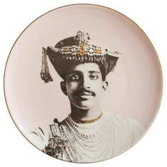 Maharaja Porcelain Dinner Plate by Vito Nesta for Les-Ottomans Part 5