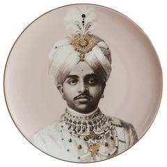 Maharaja Porcelain Dinner Plate by Vito Nesta for Les-Ottomans Part 6