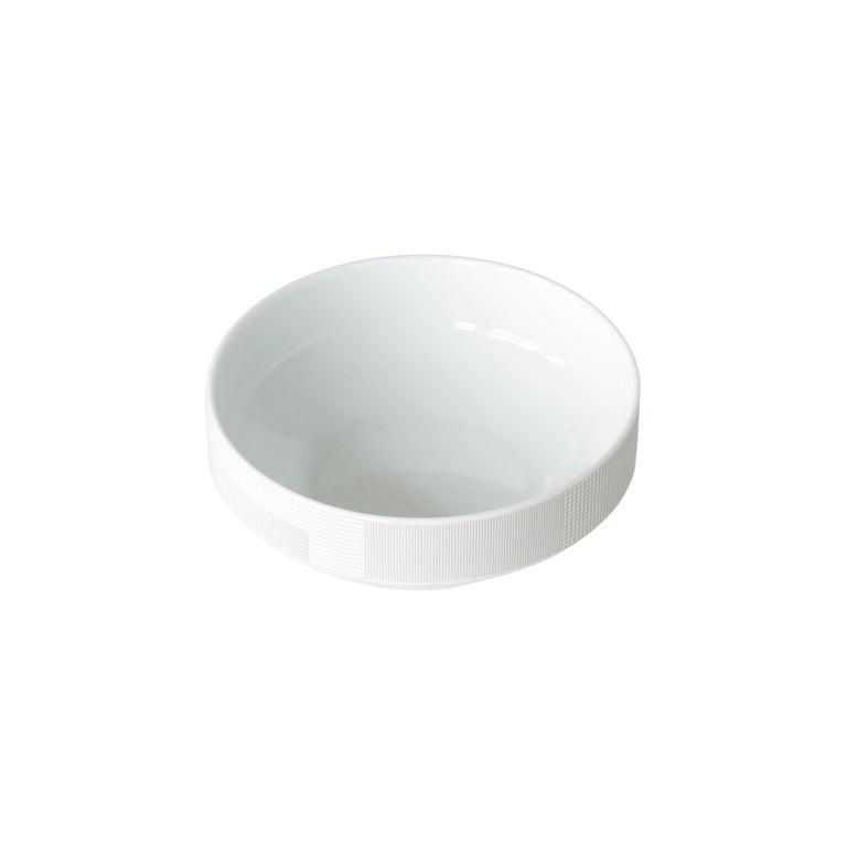 Maharam Pattern Porcelain Bowl by Scholten & Baijings  For Sale