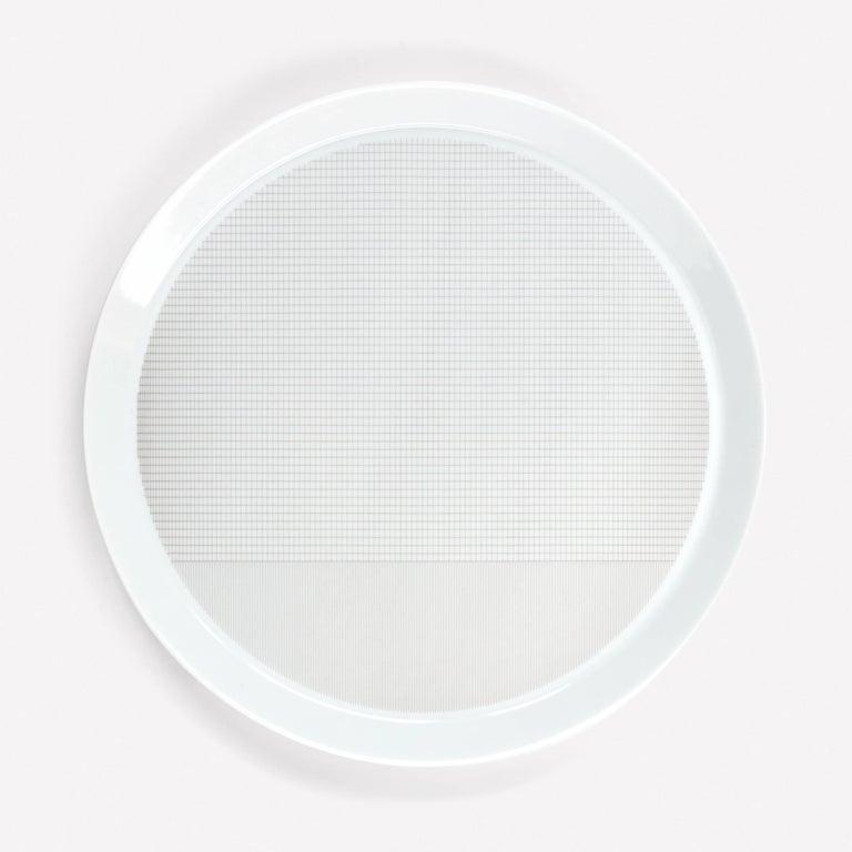 Modern Maharam Pattern Porcelain Plate by Scholten & Baijings  For Sale