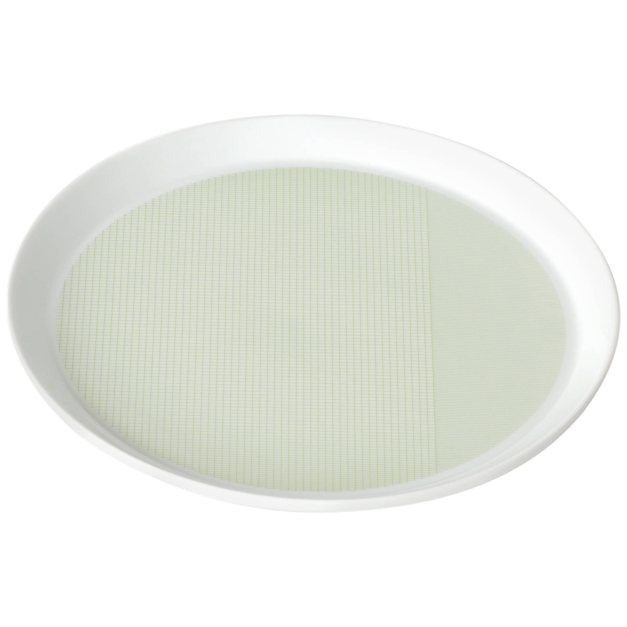 Maharam Pattern Porcelain Plate by Scholten & Baijings