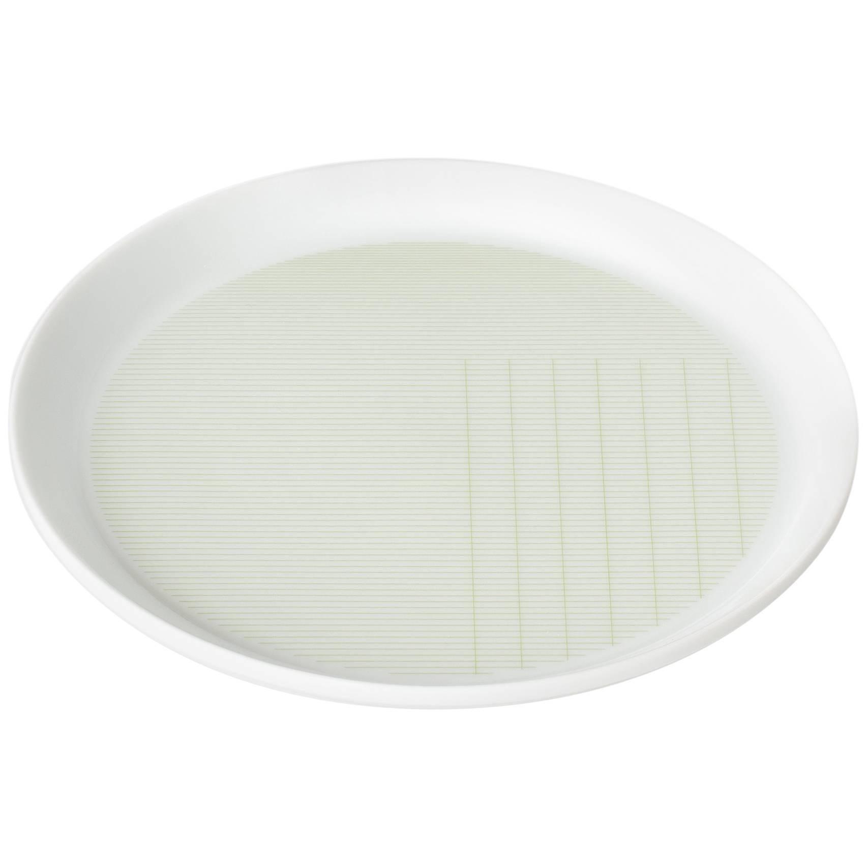Maharam Pattern Porcelain Plate Small by Scholten & Baijings