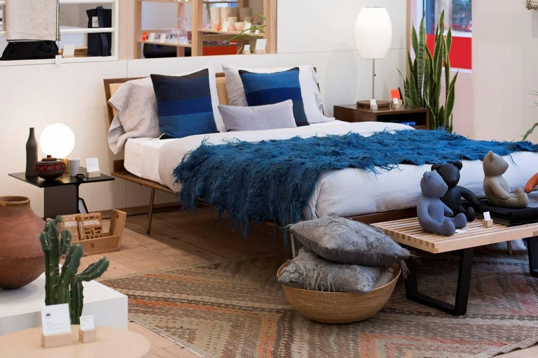 American Maharam Pillow, Drenthe Heath by Claudy Jongstra