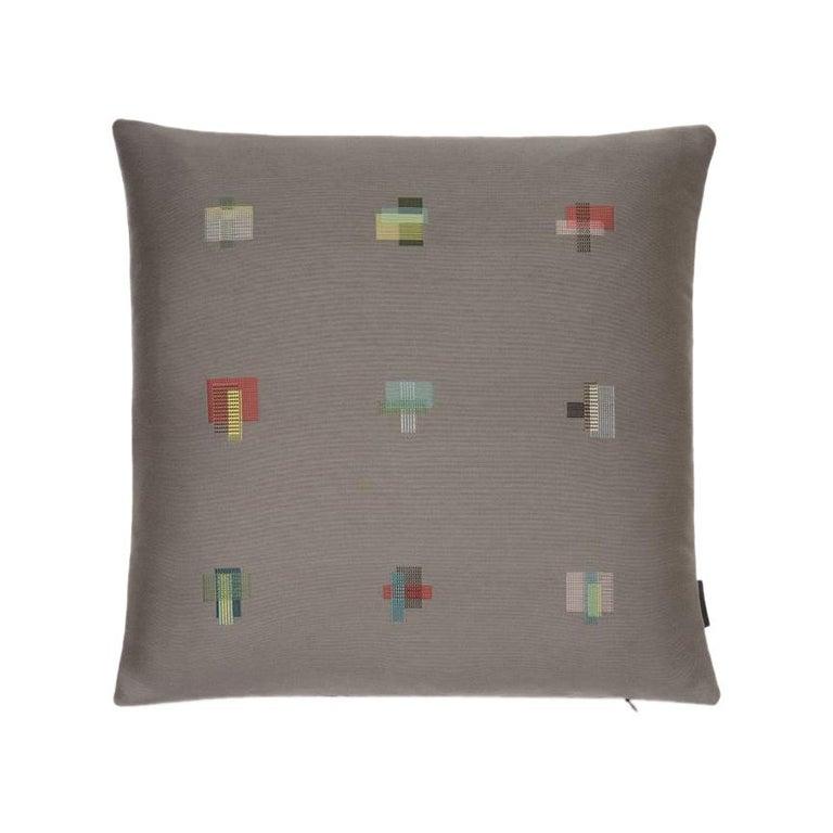 Maharam Pillow, Darning Sampler by Scholten & Baijings For Sale