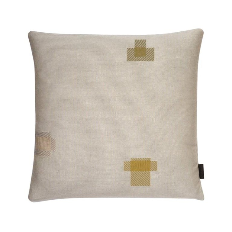 Maharam Pillow, Darning Sampler Large by Scholten & Baijings For Sale