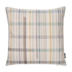 Maharam Pillow, Darning Sampler Plaid by Scholten & Baijings