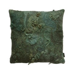 Maharam Pillow, Drenthe Heath by Claudy Jongstra, Sies Marjan Limited Edition
