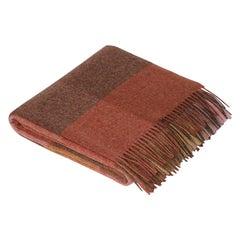 Maharam Throw, in Wool Check 002 Peony, by Paul Smith