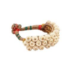 Maharani Pearl Cuff Bracelet