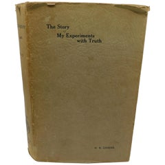 Mahatma Gandhi 1929 First Edition Autobiography Book