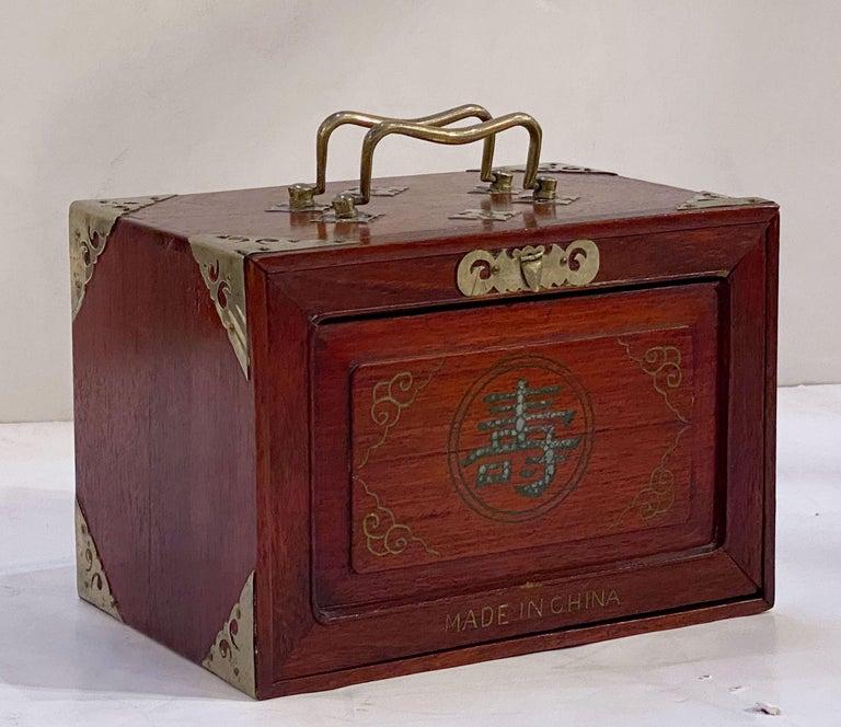 MahJong Game Set in Cabinet Box, N.Y.K. Fleet Ocean Liner Edition 5