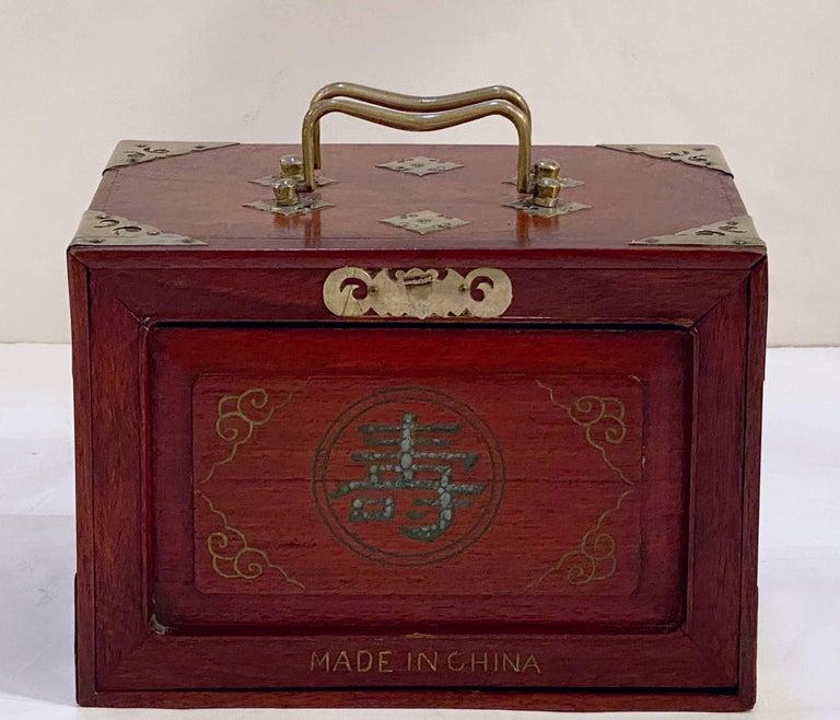 MahJong Game Set in Cabinet Box, N.Y.K. Fleet Ocean Liner Edition 6