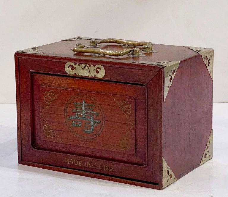 MahJong Game Set in Cabinet Box, N.Y.K. Fleet Ocean Liner Edition 7