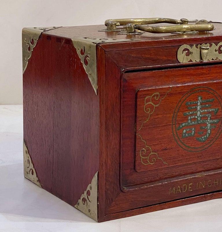 MahJong Game Set in Cabinet Box, N.Y.K. Fleet Ocean Liner Edition 8