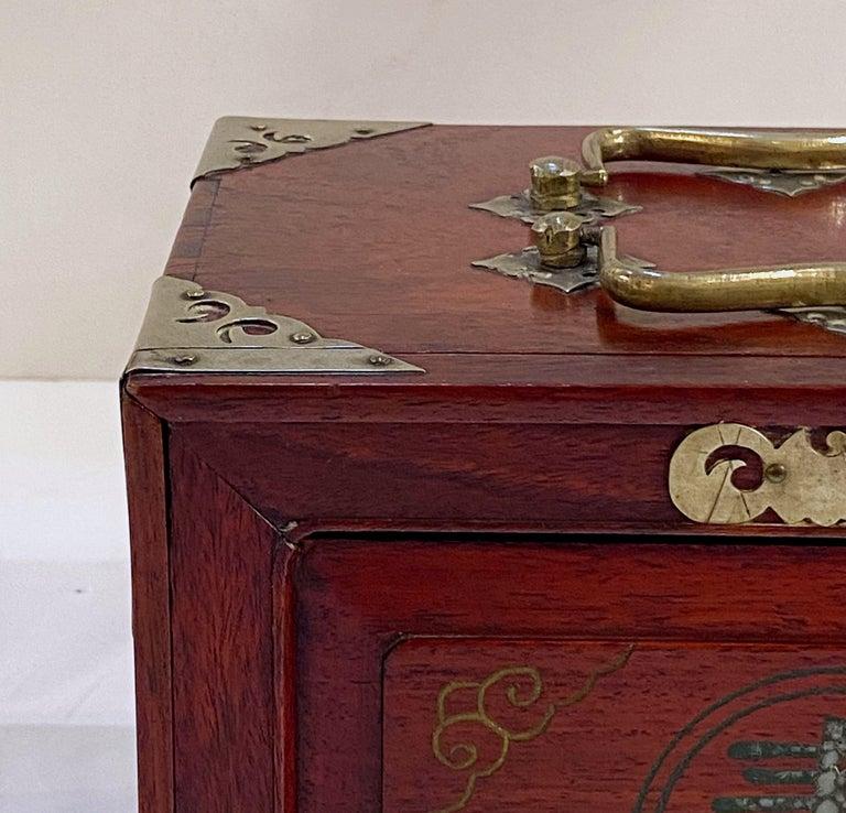 MahJong Game Set in Cabinet Box, N.Y.K. Fleet Ocean Liner Edition 9