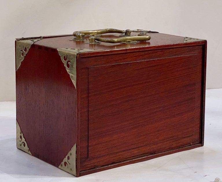 MahJong Game Set in Cabinet Box, N.Y.K. Fleet Ocean Liner Edition 14