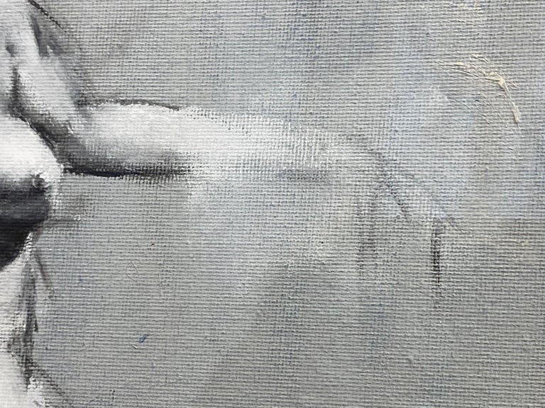 """Mahnoor Shah """"Nude Figure Study"""" Impressionist Painting, Early 2010s For Sale 1"""