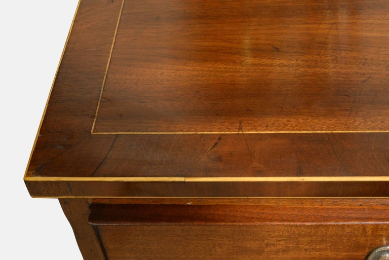 Mahogany 18th Century Chest of Drawers In Good Condition For Sale In Salisbury, GB