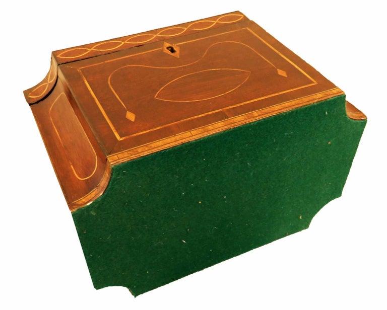 Mahogany 18th Century Tea Caddy 2