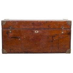 Mahogany and Brass Transit Scope Box, c.1920