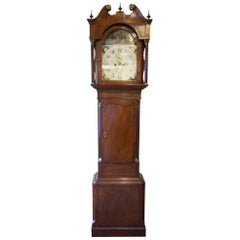 Mahogany and Cross Banded 8 Day Longcase Clock