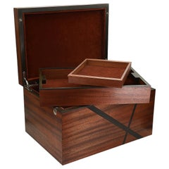 Mahogany and Ebony Box