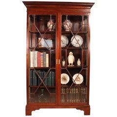 Mahogany Antique 19th Century Bookcase / Cupboard