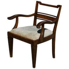 Mahogany Arm Chair attributed to Lajos Kozma