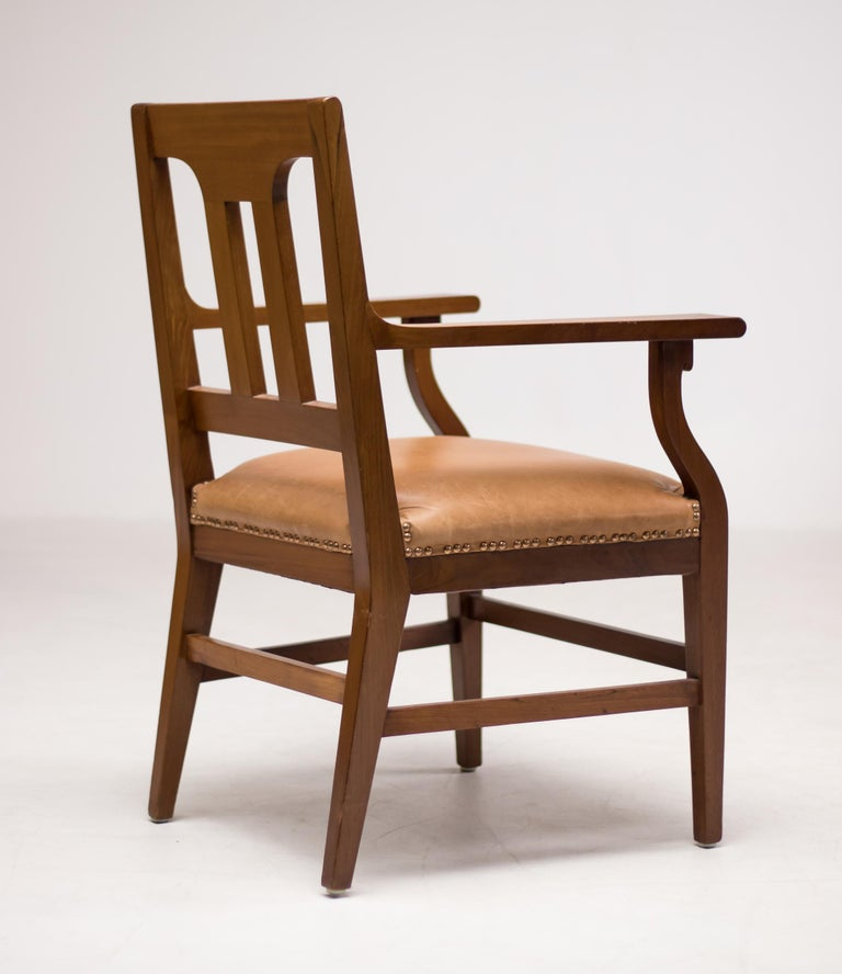 Rare armchair designed in 1910 by Kobus de Graaff, model;