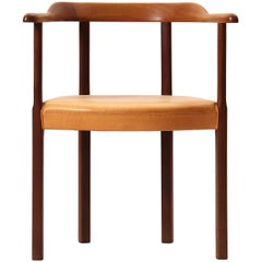 Mahogany Armchair by Ole Wanscher