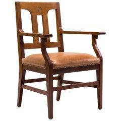 Mahagoni Sessel Entworfen von Kobus de Graaff