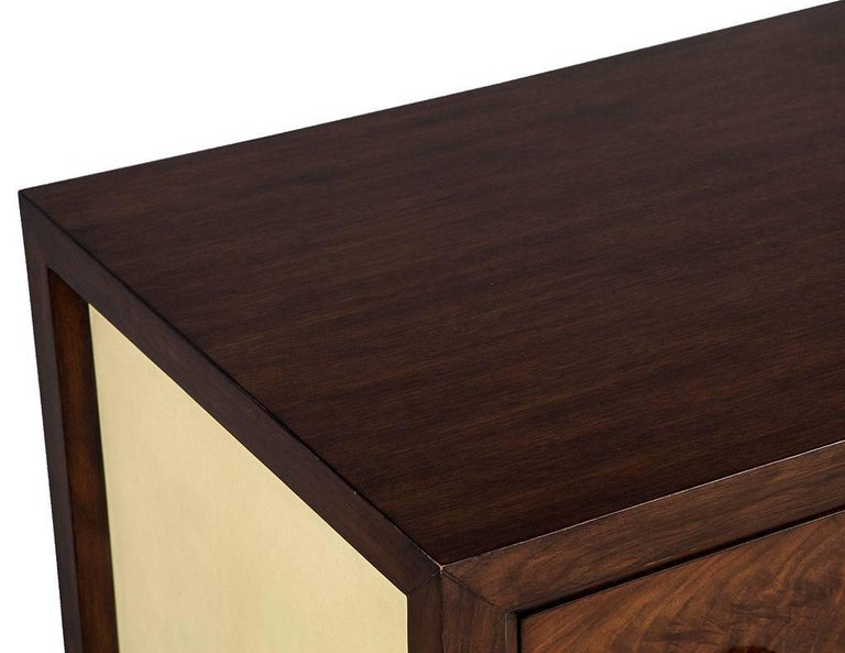 Mahogany Art Deco Inspired Cabinet Buffet For Sale 5