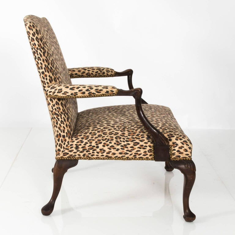 Mahogany Bergere Chair For Sale 3